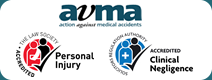 Law Society's Personal Injury and Medical Negligence, and AvMA Compensation Claims panels